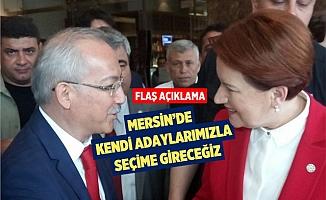 İYİ Parti Mersin İl Başkanı Servet Koca'dan Seçim Açıklaması