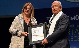 Mersin Büyükşehir Belediyesi'ne 'Mükemmellik' Ödülü