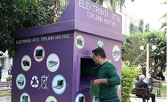 Mersin'de Elektronik Atıklar Geri Dönüşme Kazandırılıyor