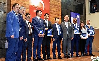 Mersin'de Vergi Rekortmeni Muhasebeciler Ödüllendirildi.