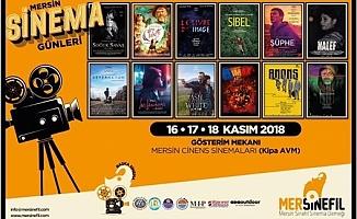 Ödüllü 12 Film İlkkez Mersin'e Geliyor