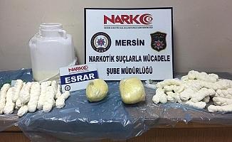 Peynir Bidonunda Uyuşturucu