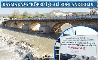 Silifke'de Köprü Tartışması Sürüyor