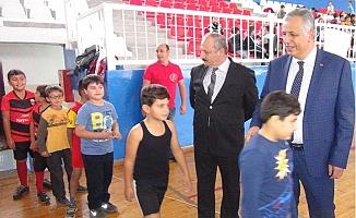 Silifke'de 1590 Öğrenci Türk Sporunun Geleceği Olmak İçin Çalışıyor