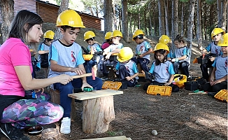 Tarsus Orman Okulu öğrencileri Bekliyor