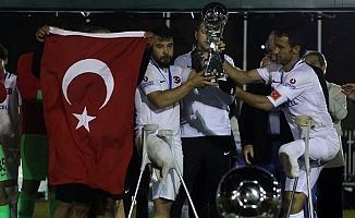 Türkiye Ampute Futbol Milli Takımı, Dünya İkincisi Oldu.