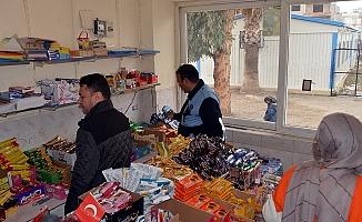 Akdeniz'de Okul Kantinleri Denetleniyor
