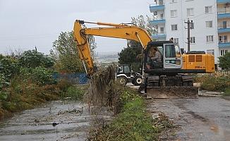 Erdemli Belediyesi'nden Sel Tedbiri