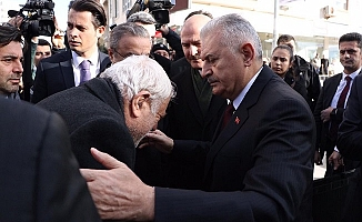 Meclis Başkanı Yıldırım, Şehit Emniyet Müdürü İçin Mersin'e Geldi.