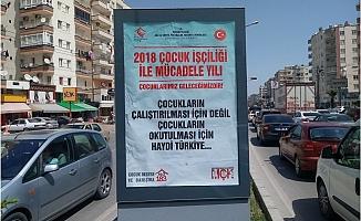 Mersin'de Çocuk İşçiliği İle Mücadele Çalışmaları