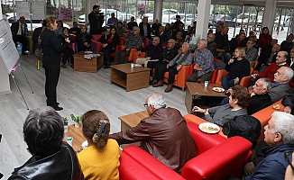 Mersin'de Emekliler İçin Sağlıklı Yaşam Projesi