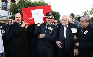 Mersin'de Şehit Polis Müdürü İçin Gözyaşı Sel Oldu