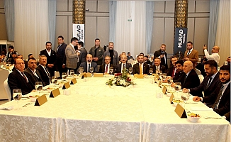 MÜSİAD Mersin, Arap İş Adamları ile Bir Araya Geldi