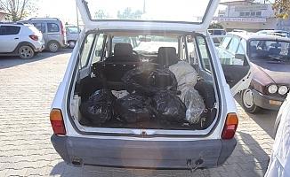 Polisten Kaçan Otomobilden 4 Kilo Uyuşturucu Çıktı