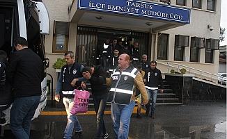 Tarsus'ta PKK/KCK Terör Örgütü Operasyonunda 8 Kişi Tutuklandı