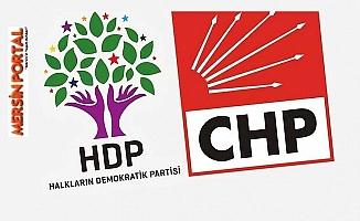 CHP Akdeniz'de HDP İle İttifak Söylentileri Rahatsızlığa Neden oldu.
