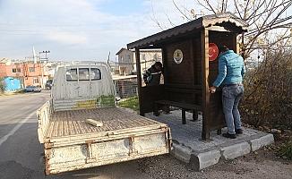 Erdemli Belediyesi, Durakları Kendi Atölyesinde Üretiyor