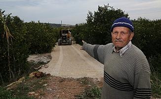 Erdemli'de Alt Yapı, Bakım, Onarım ve Yol Yapımı Çalışması Sürüyor