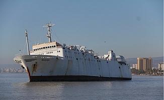 Mersin'de Karaya Oturan Gemi İçin Acil Satış Kararı Alındı