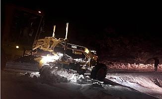 Mut'da Taşımalı Eğitime Kar Engeli
