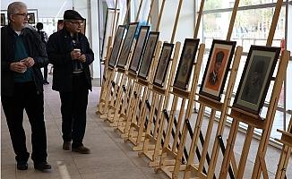 """Ressam Karaçor'un """"50. Sanat Yılı Sergisi"""" Açıldı"""