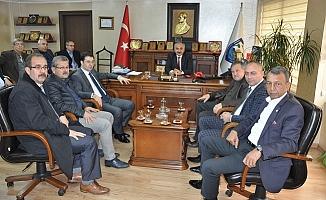 Başkan Dinçer'den Sanayi Sitesi Sitemi