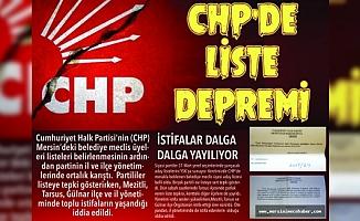 CHP Mersin'de Toplu İstifalar Deprem Etkisi Yarattı