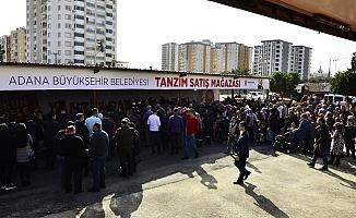 En Ucuz Tanzim Satış Mağazası Komşu Adana'da Açıldı