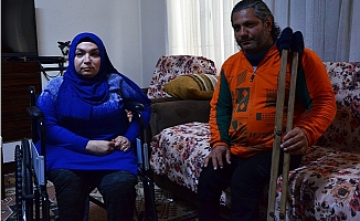 Engelli Çift Evlenebilmek İçin Yardım Bekliyor