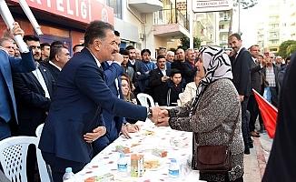 Hamit Tuna'ya Silifke'de Coşkulu Karşılama