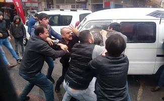 Mersin'de Sürücülerin Yol Kavgası Korku Yarattı