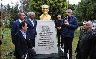 Mezitli'de Atatürk Büstü Olan Site Sayısı Her Geçen Gün Artıyor