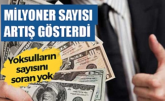 Türkiye'de 161 Bin 800 Milyoner Var
