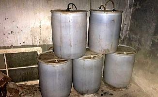 Mersin'de Ahırda Şarap Üretimi