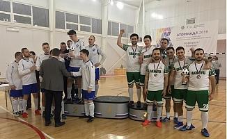 Akkuyu Nükleer Futbol Takımı, Atomiada-2019'dan Bronz Madalya ile Döndü