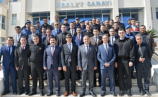 Silifke'de Adli Kolluk Koordinasyon Toplantısı Düzenlendi