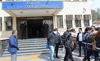 Tarsus'ta Tefeci Operasyonunda 9 Tutuklama