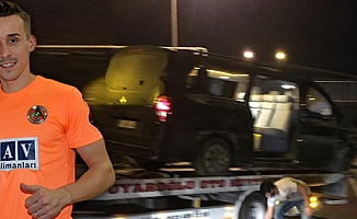 Alanyasporlu Futbolcuları Taşıyan Araç Devrildi: Josef Sural Hayatını Kaybetti