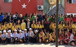Anamur'da 638 Öğrenciye Sertifika