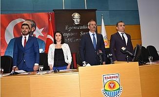 Başkan Bozdoğan İlk Meclisi Toplantısını Yaptı