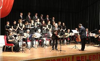 Erdemli Belediyesi Çağdaş Türk Müziği Korosu, Sezon Açılışını Yaptı