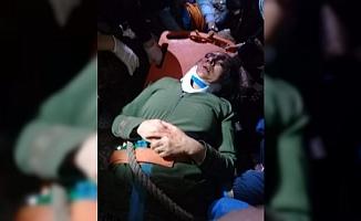Mağarada Kuyuya Düşen Kadını İtfaiye Ekipleri Kurtardı