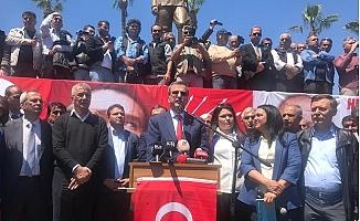 Mersin'de Kemal Kılıçdaroğlu'na Yapılan Saldırı Protesto Edildi.