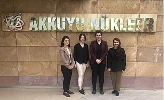 Türk Kadın Mühendisler, Akkuyu'da Sahada Çalışmak İçin Gün Sayıyor
