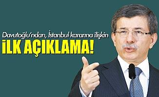 Ahmet Davutoğlu'ndan YSK Kararına İlk Yorum