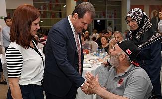 Başkan Seçer, Şehit ve Gazi Aileleriyle ile İftarda Buluştu.