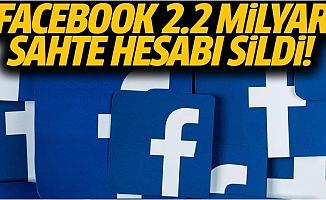 Facebook Bu Yıl 2.2 milyar Sahte Hesabı Sildi