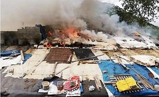 Mersin'de Çiftlik Evindeki Yangın Korkuttu