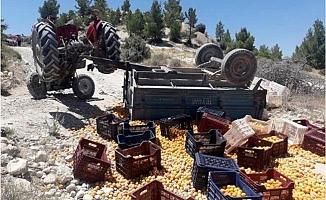 Mersin'de Traktör Devrildi; Arda Öldü, 8 Kişi Yaralandı