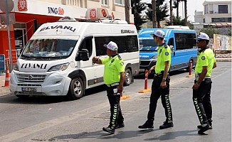 Mersin'deki Toplu Taşıma Denetimleri Sürüyor